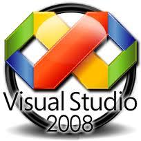 ERRO VS  Problemas de debug no Visual Studio 2008Visual Studio 2008 Logo