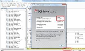 Versao SQL 2008